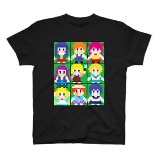 ムッツリおっち ドット絵 T-shirts
