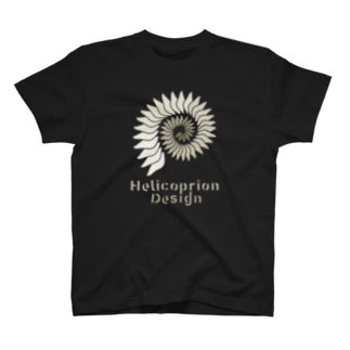 HelicoprionDesignロゴマークver.1 T-shirts