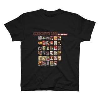 レトロシガレット T-shirts