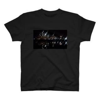 工場夜景 T-shirts