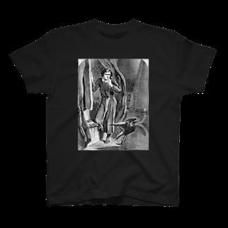 文豪の肖像、文学の世界のレイヴン never more T-shirts