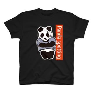パンダスポッティング 2018夏 Tシャツ