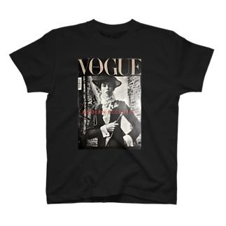 2018- Noir de jais a.k.a VOGUE T-shirts