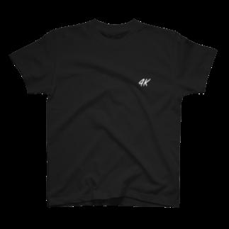 ../ の画質が大事な4K_クロ T-shirts