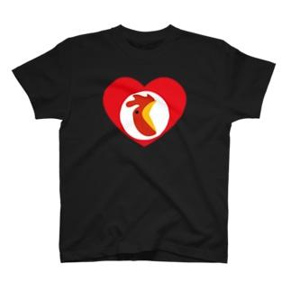 チキンハートだけに「チキン野郎!」といじめられる T-shirts