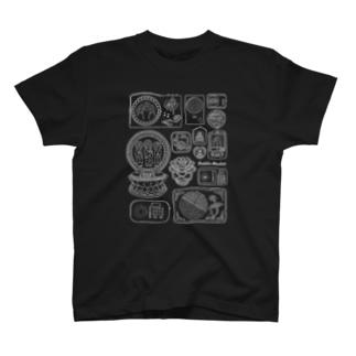 ブッダマシーン(白ライン) T-shirts