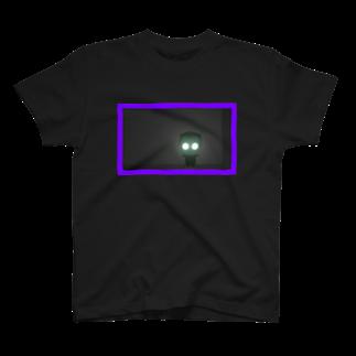 rucochanmanのanonchan glow in the dark T-shirt T-shirts
