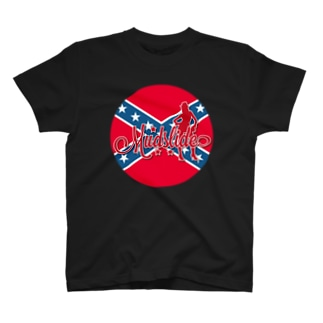 MUDSLIDE dixie flag T-shirts