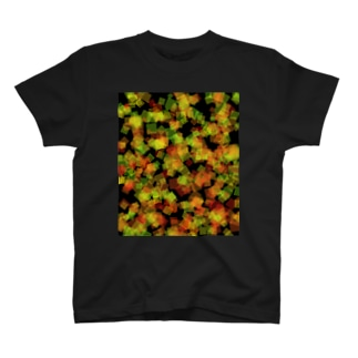 Red&Green_Square T-shirts