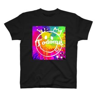 TODOME カラフル T-shirts