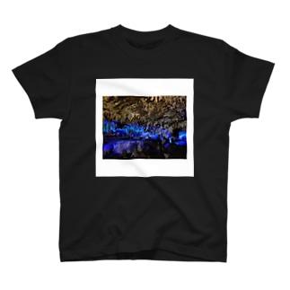 鍾乳洞の写真 T-shirts