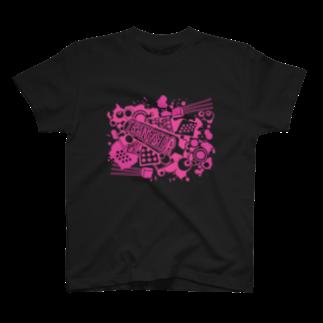 マイキーくん@ベルベット甲子園のTRANSISTOR T-shirts