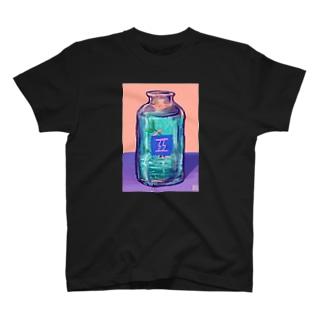 ACIDWAVEのでょんカプチーノ T-shirts