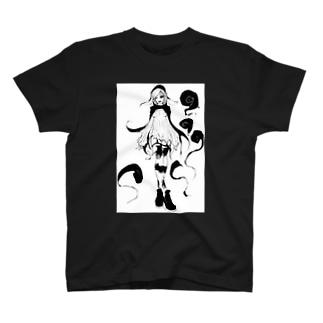 蝙蝠蛸ちゃん T-shirts