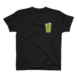 【濃い色対応】OCHA WARI  FAN CLUB  T-shirts