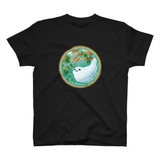 金魚とアザラシ T-shirts
