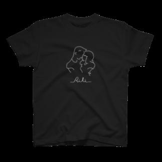 RiLiのtwo of a kind(反転) T-shirts
