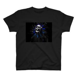 カッコいいガイコツ T-shirts