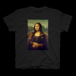 SkySoar(宙舞)のモナリザ T-shirts