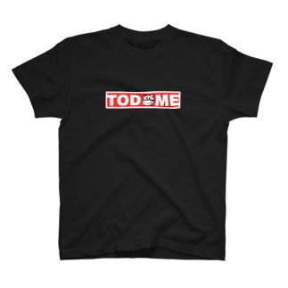 TODOMEボックスロゴtype1 T-shirts