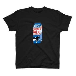 牛乳パック T-shirts