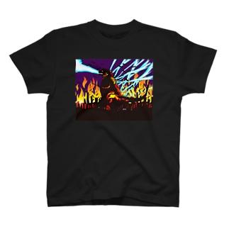 新コチラの破壊行進!2 フルグラフィックTシャツ  T-shirts