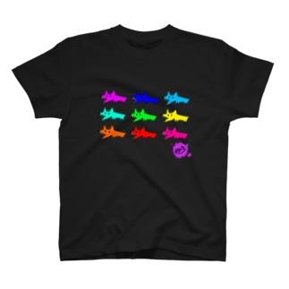 イヌ T-shirts