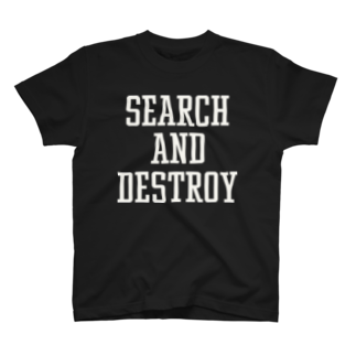 ShineのSEARCH&DESTROY T-shirts
