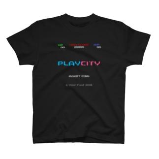 プレイシT T-shirts