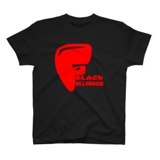 kids logo red T-shirts