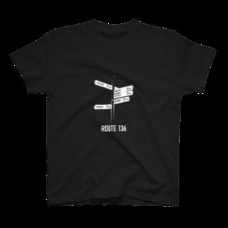 wlmのROUTE136 T-shirts