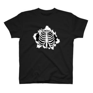 「肋骨見えてますよ?」 T-shirts