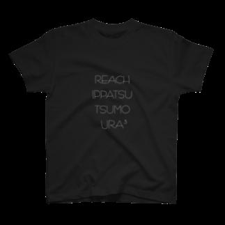 wlmのLETTERS ura3 T-shirts