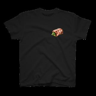 Studio MOONのアスパラベーコン T-shirts