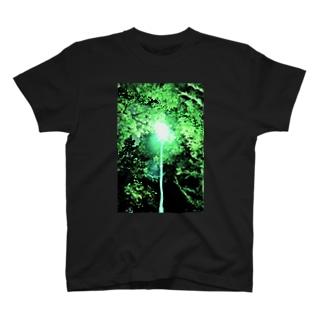 Night green T-shirts