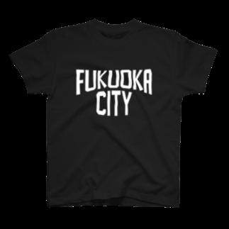 LOCAL T-SHIRTSの福岡シティ T-shirts