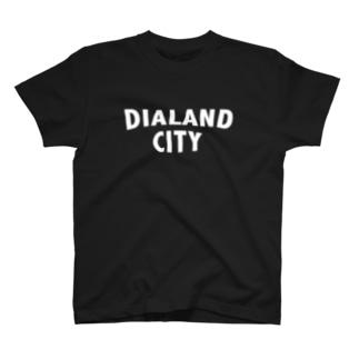 DIALAND CITY WHITE T-shirts