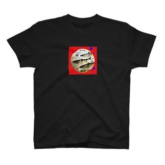 鰊!積丹(HERRING;ニシン) あらゆる生命たちへ感謝をささげます。※価格は予告なく改定される場合がございます。 T-shirts
