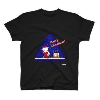 クリスマスの夜 T-shirts