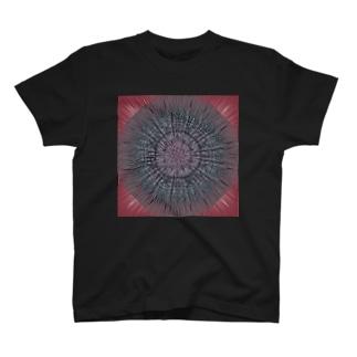 黒魔術魔法陣Tシャツ T-shirts