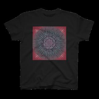 海老婆の黒魔術魔法陣Tシャツ T-shirts