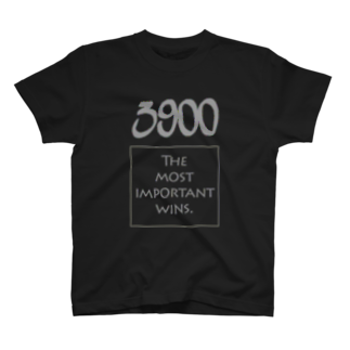 wlmのPOINTS 3900 Gray T-shirts