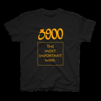 wlmのPOINTS - 3900 Yellow T-shirts