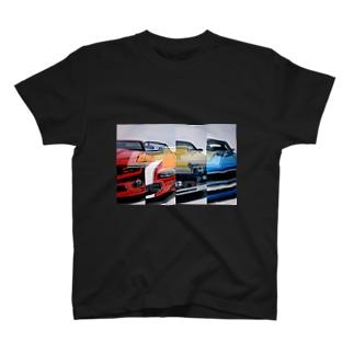 カマロいっぱい T-shirts