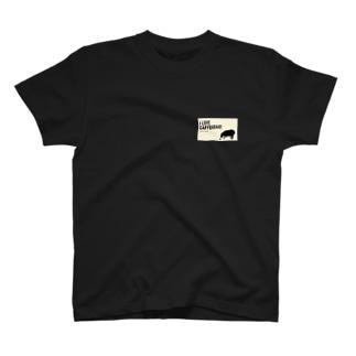 カピバラを愛する人のための T-shirts