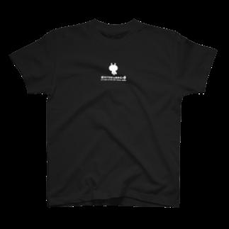 NEGI@トトくん・ひとえうさぎのひとえうさぎ Tシャツ