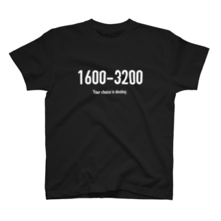 POINTS 1600-3200 T-shirts