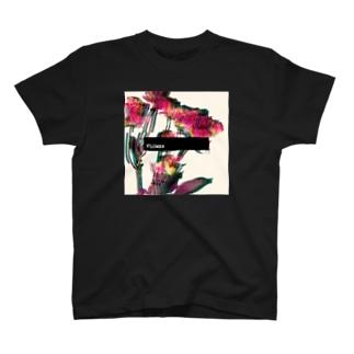 エモグリッチフラワー T-shirts