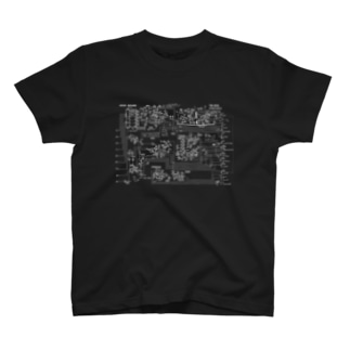 TB-303 回路図(wh) T-shirts