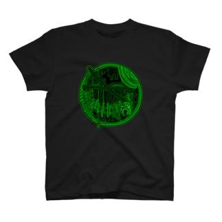 樹海探検 T-shirts